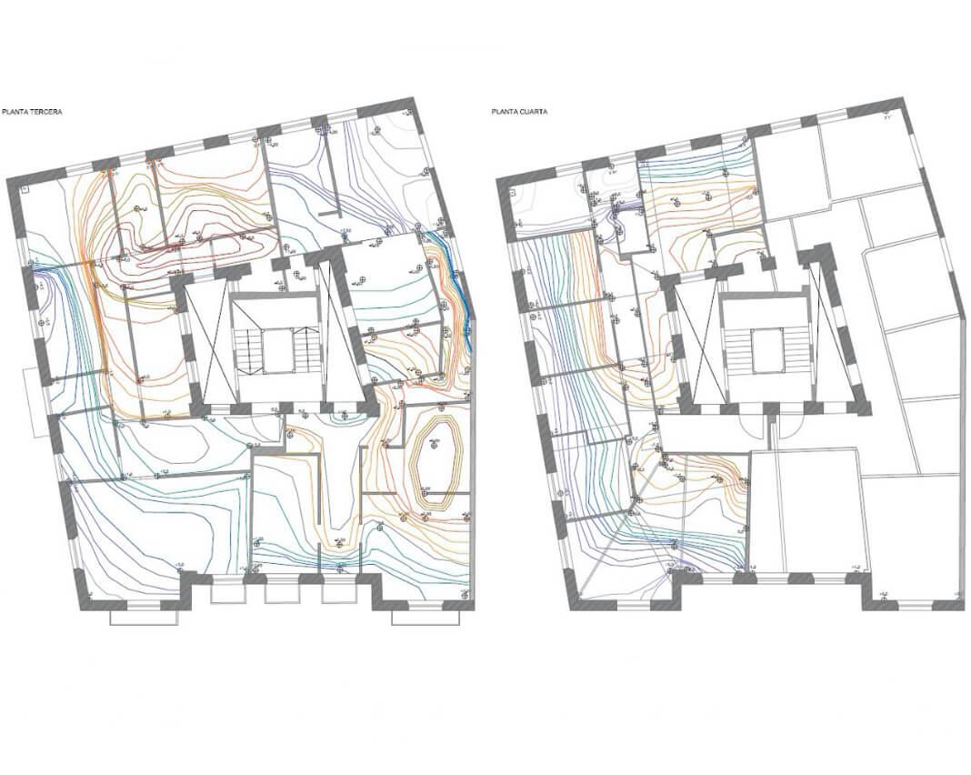 Proyecto: Estudio Edificio Eladio Laredo, Castro Urdiales | ISOSTATIKA